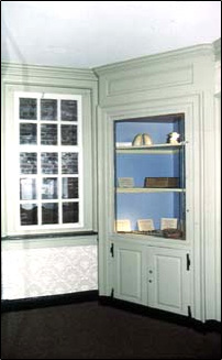 Cupboard,  Historic Paint Colors